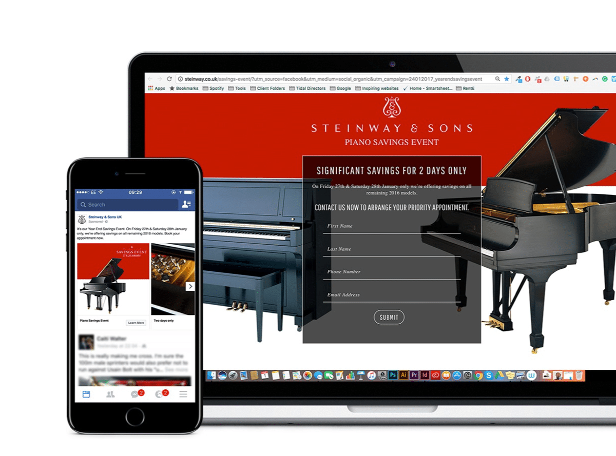 Steinway And Sons | SEO agency in UK and Sweden